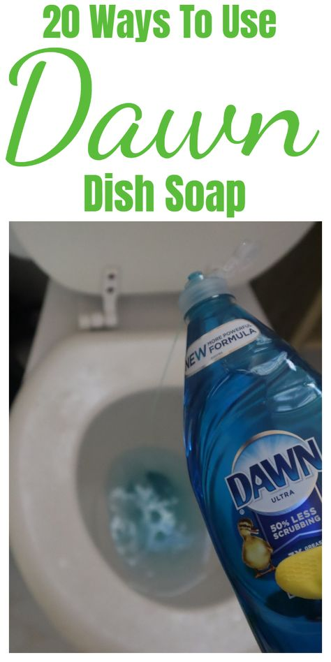 Dawn dish soap household and cleaning tips, tricks, and hacks. Dawn dish soap household and cleaning tips, tricks, and hacks. Speed Cleaning, Household Cleaning Tips, Cleaning Day, Cleaning Checklist, Cleaning Recipes, House Cleaning Tips, Spring Cleaning, Cleaning Hacks, Cleaning Supplies