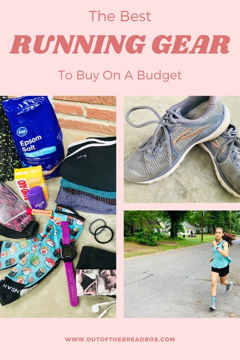 Running is a super accessible sport and you don't NEED a lot of gear. As you get more and more serious about the sport, you might find yourself wanting some new gear to help your running become more comfortable. And even then it doesn't have to be expensive!! #runninggear #runningtips #runningshoes #runningforbeginners