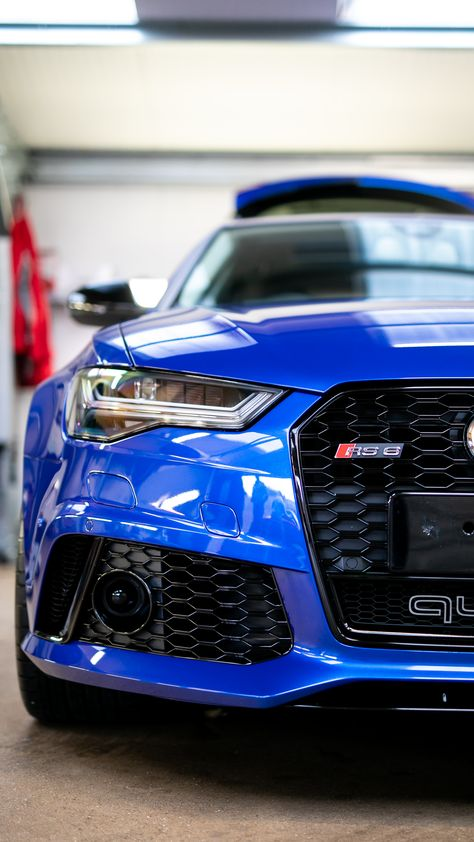 Romans are pleased to offer this Audi Avant Tfsi Quattro for sale presented in Sepang Blue with Black Leather / Alcantara.