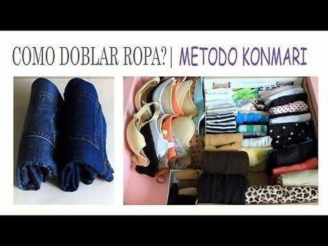 Cómo Doblar Camisetas En Vertical En 2 Segundos Ahorrar Espacio En Tu Armario Youtube How To Fold Sweaters Konmari Marie Kondo