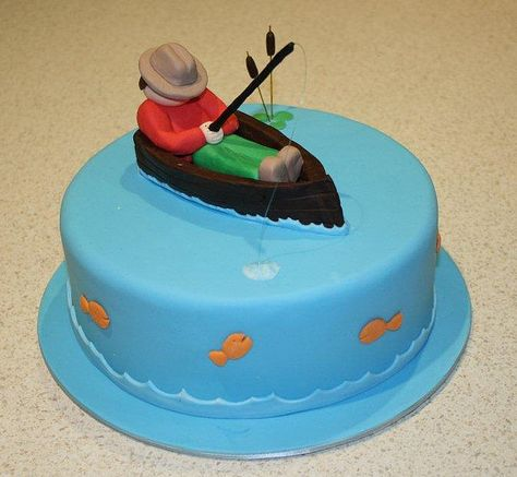 17 best images about Fishy cakes on Pinterest Boats Fishing
