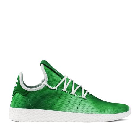 separation shoes 70f1a e5c5f Adidas Originals Pharrell Williams Tennis Hu DA9619 Men s - Green White
