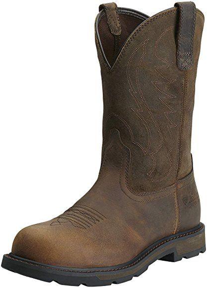 Ariat Botas De Trabajo Con Punta De Acero Para Hombre Marrón Shoes Work Boots Steel Toe Work Boots Boots