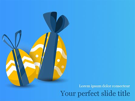 Happy Easter Powerpoint Template Powerpoint Templates Powerpoint Graphic Design Templates