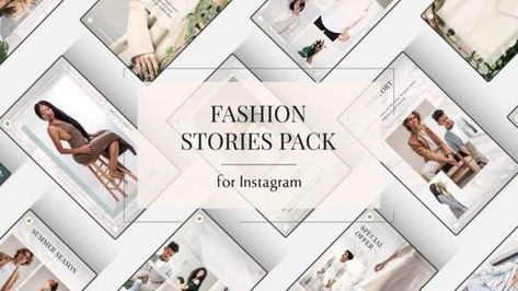 16 Instagram Story Ideas for Fashion - After Effects Template