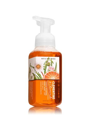 Clementine Chamomile Gentle Foaming Hand Soap Bath And Body