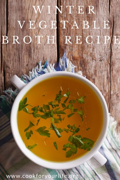 healthblog This Winter Vegetable Broth...