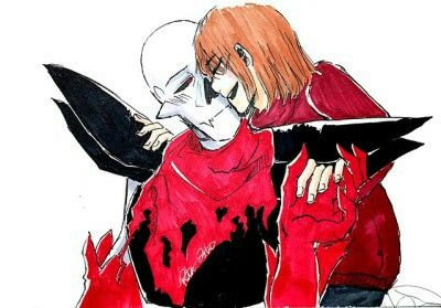 List of underfell papyrus x frisk comic pictures and underfell