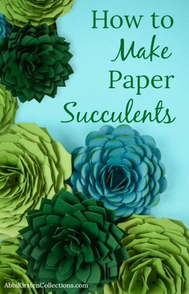 Paper Succulent Template: How to Make Paper Succulents DIY Paper Lanterns Paper lanterns come in div Giant Paper Flowers, Diy Flowers, Fabric Flowers, Paper Flower Art, Paper Flower Tutorial, Neli Quilling, Paper Succulents, Ideias Diy, How To Make Paper