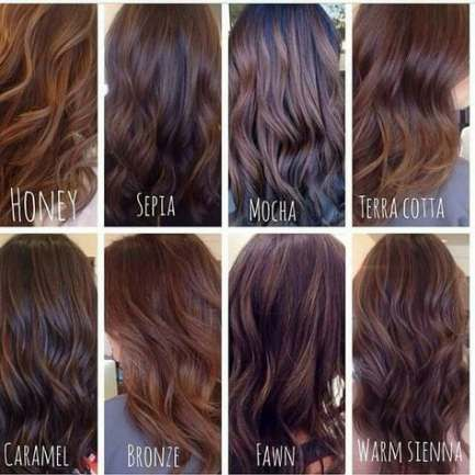 68 Ideas Hair Color Ideas For Brunettes For Summer Shades Dark Brown Brunette Hair Color Types Of Brown Hair Hair Styles