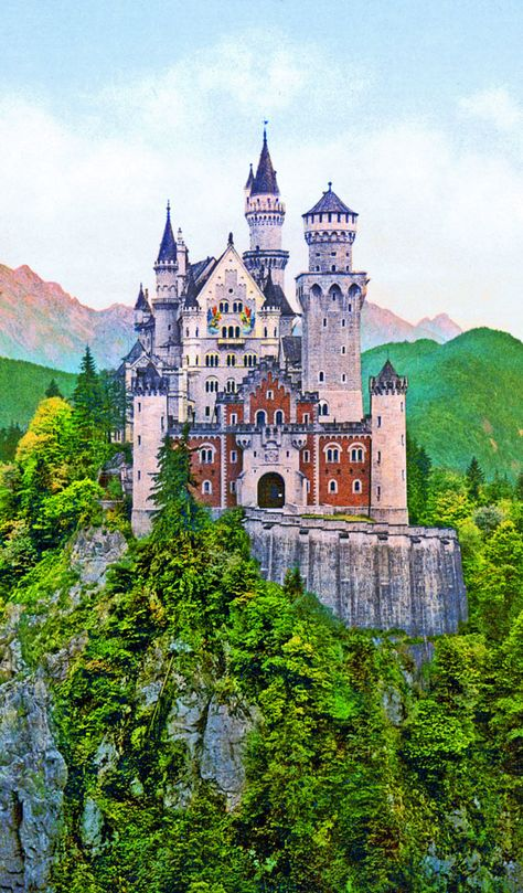 Neuschwanstein Castle... the castle of Mad King Ludwig... Germany