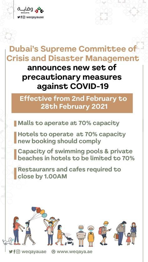 Find Out About The New The Safety Precautions That Implemented In Dubai In 2021 Dubai Safety Precautions Swimming Pools