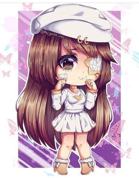 Eto Milaya Devka V Gacha Lajf Chibi Girl Cute Anime Chibi Cute Anime Character