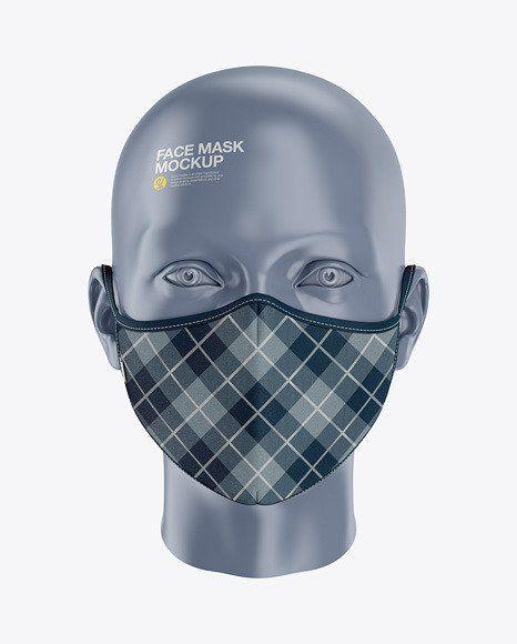 Download Surgical Mask Mockup Psd Clothing Mockup Face Mask Mockup