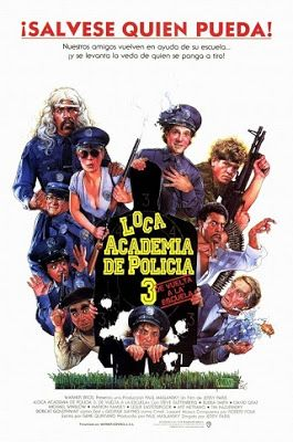 Pin By Buupath Quiñonez On Entretenimiento Police Academy Train Posters Police