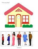 """""""Homes are where people live"""" and many other Preschool themes with"""