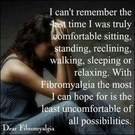 Life with Fibromyalgia....