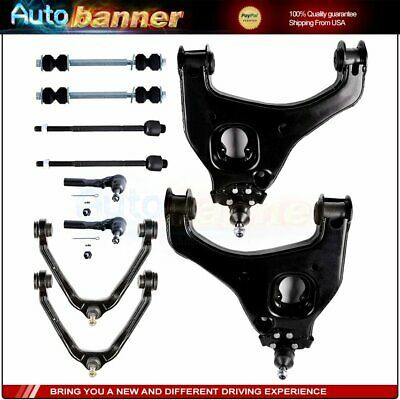 Ad Ebay For Chevy Silverado 1500 10pcs Front Upper Lower Control Arms Sway Bars Tie Rods In 2020 Chevy Silverado 1500 Chevy Silverado Control Arms