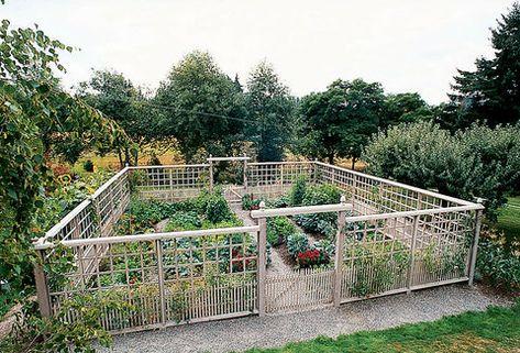 Deer Proof Garden Fence Ideas Vegetable Garden Design Garden