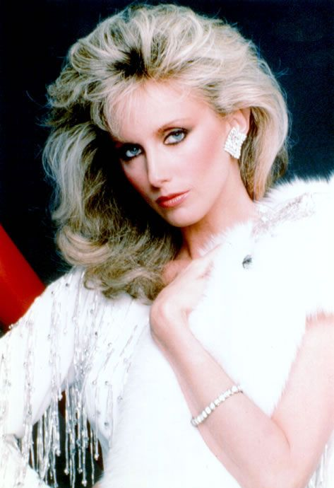 Vintage Morgan Fairchild Page From 1984 Playboys Women Of