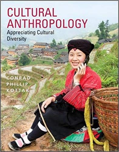Test Bank For Title Cultural Anthropology Edition 16th