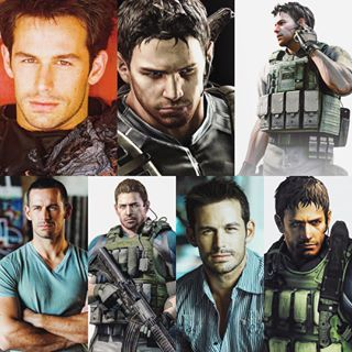 Matt Mullins Chris Redfield Resident Evil Resident Evil Anime Resident Evil Evil World