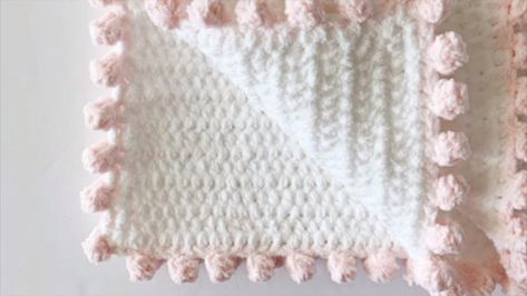 Add a Dot Boarder to a Baby blanket