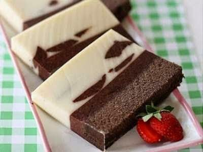 Resep Puding Kentang Santan Coklat Desert Pudding Pinterest