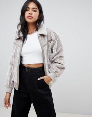 G Star Deline teddy reversible jacket | Reversible jackets