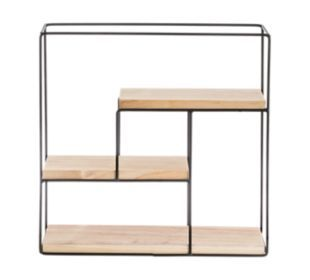 Etagere 39x39cm Noir Bois Fly Decoration Interieure Collection De Meubles Mobilier De Salon