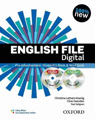 Scaricare English File Digital Pre Intermediate Student S Book Workbook Without Keys Con Espansi Teacher Books Workbook English File