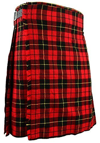 Pride of Scotland Falda Escocesa Vestido Tierras Altas Tradicional Hombres Kilt
