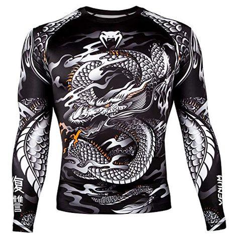 Dragons Maglietta a Maniche Lunghe con Drago