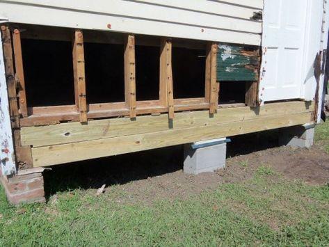 Pier and Beam Repair Baton Rouge Foundation Repair ... #shedplans