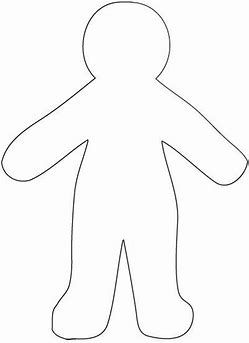 Image Result For Basic Paper Doll Template Paper Doll Template