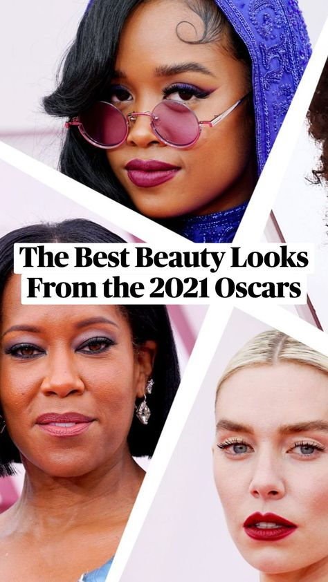 The Best Beauty Looks From the 2021 Oscars