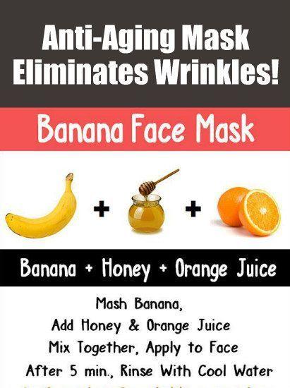 cream Anti-Aging Banana Mask...