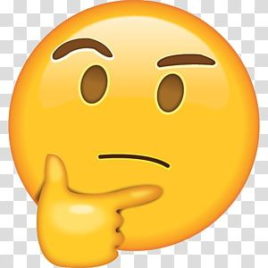 Think Emoji Emoji Thought Whatsapp Emoticon Emoji Transparent Background Png Clipart In 2020 Wow Emoji Emoji Emoji Backgrounds