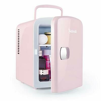 Sponsored Link Astroai Mini Fridge 4 Liter 6 Can Ac Dc Portable Thermoelectric Cooler Pink Mini Fridge Cool Mini Fridge Mini Fridges