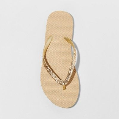 Women's Brynn Glitter Flip Flop Sandals Shade & Shore™