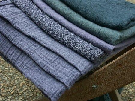 Teintures Dylon (raisin-quetsches, vert de gris et ardoise, recettes dans les commentaires)