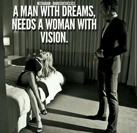 I need a women with vision.