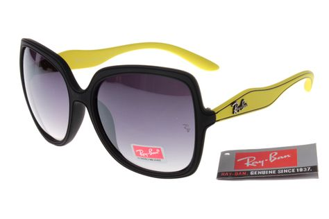 c487e143a529a Ray-Ban Jackie Ohh 2085 Black Yellow Frame Gray Lens RB35  RB156  -  22.68    Top Ray-Ban® And Oakley® Sunglasses Online Sale Store- Save Up To 80% Off