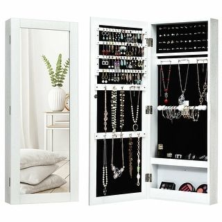 Overstock Com Online Shopping Bedding Furniture Electronics Jewelry Clothing More In 2020 Wall Mounted Jewelry Armoire Mirrored Armoire Mirror Jewellery Cabinet