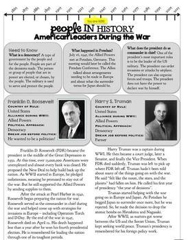 World War II: Passages (Vol  1)