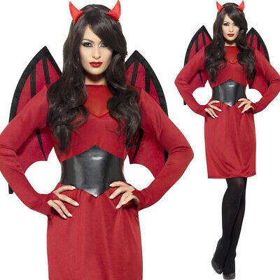 Red Pixie Devil Ears Alien Horror Satan Halloween Fancy Dress Accessory NEW