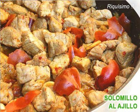 Solomillo De Cerdo Al Ajillo Recetas Con Carne Comida Y Recetas