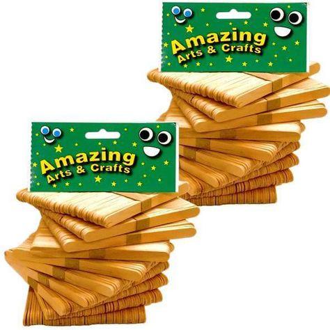 1000 Natural Wooden Lollipop Stick