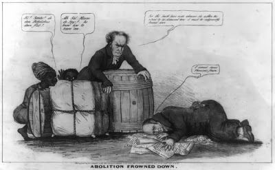 Political Cartoon From 1839 Satirizing The Gag Rule In