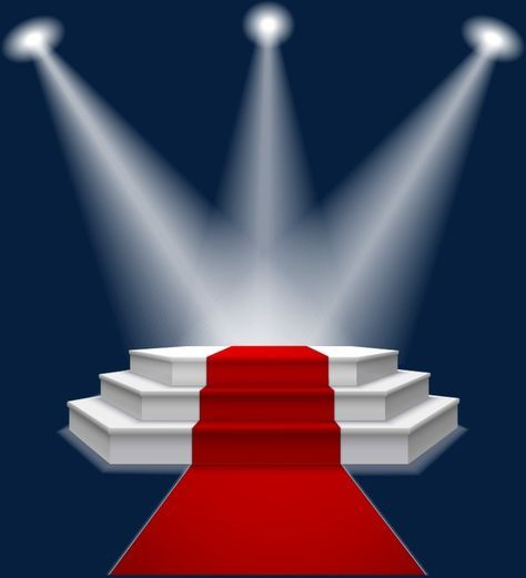 Stage Lighting Red Carpet Png And Vector Studio Background Images Coreldraw Design Red And Black Background